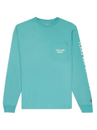 Texas A&M Aggies League Marine Green Long Sleeve