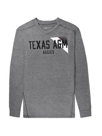 Texas A&M League Tri-Flex Long Sleeve Tee