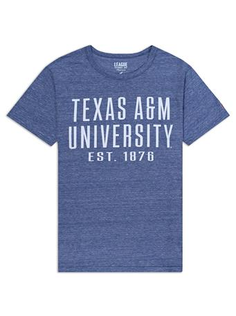 Texas A&M League Twisted Tri-Blend T-Shirt