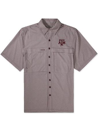 Texas A&M GameGuard Maroon & White Men's TekCheck Shirt