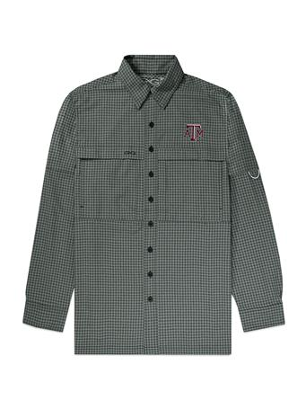 Texas A&M GameGuard GunMetal Men's TekCheck Long Sleeve