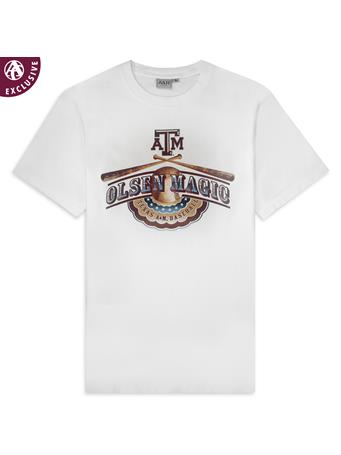 Texas A&M Olsen Magic Baseball T-Shirt