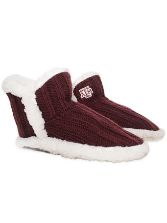 Texas A&M Sherpa-Lined Slipper Socks