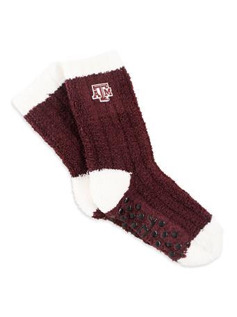 Texas A&M Miss Chalet Knit Socks