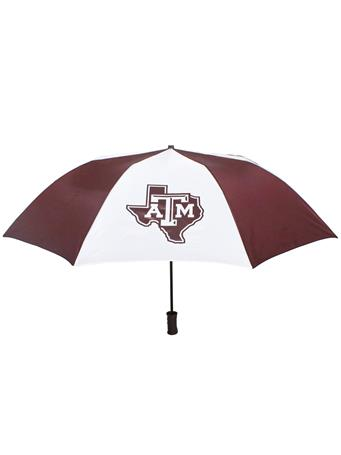 Texas A&M Large Two Color Umbrella