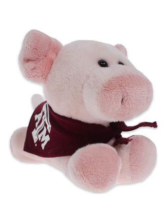 Texas A&M Short Stack Plush Pig