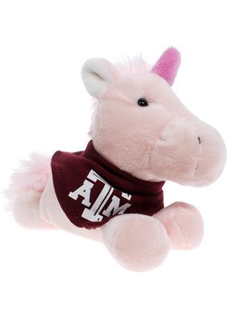 Texas A&M Short Stack Plush Unicorn