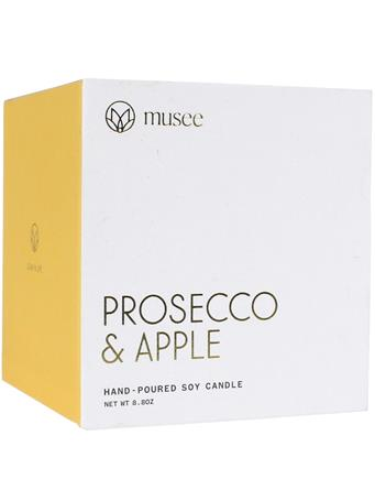 Musee Prosecco & Apple Soy Candle