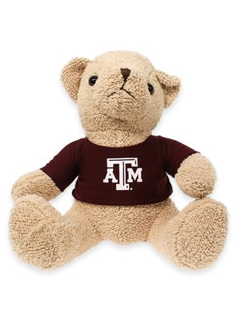 Texas A&M Theodore Bear with Maroon T-Shirt