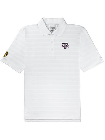 Texas A&M Champion SEC Textured Polo