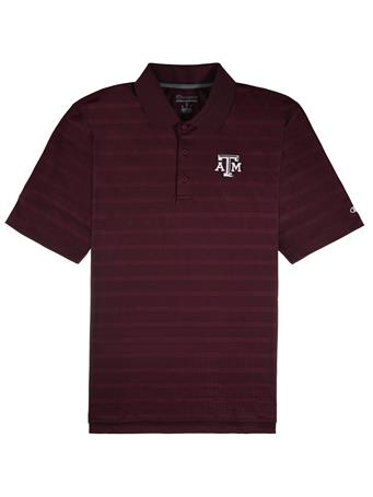 Texas A&M Champion Textured Polo