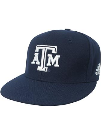 Texas A&M Adidas Americana Fitted Baseball Cap