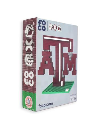 Texas A&M 3D Logo Lego Set