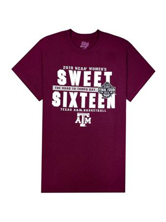 Texas A&M Women's Basketball Sweet Sixteen T-Shirt