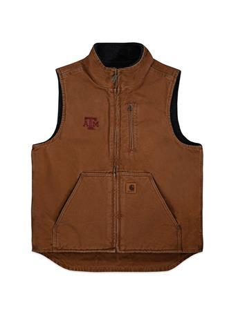 Texas A&M Carhartt Sherpa Vest