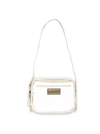 Texas A&M Klear Pearl White Bag