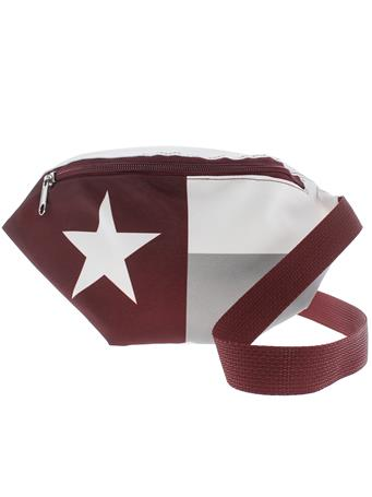 Maroon Texas Flag Fanny Pack