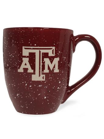 Texas A&M Speckled Bistro Mug