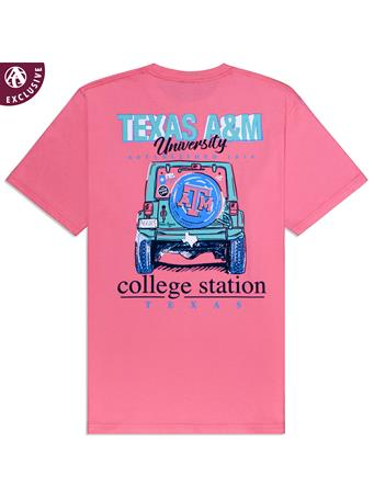 Texas A&M College Station Jeep T-Shirt