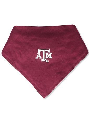 Texas A&M Solid Bandana Bib