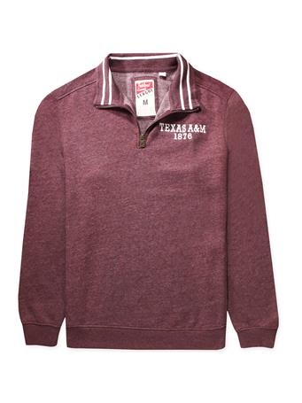 Texas A&M League 1876 Triblend Quarter Zip