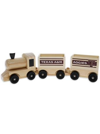 Texas A&M Wooden Toy Train