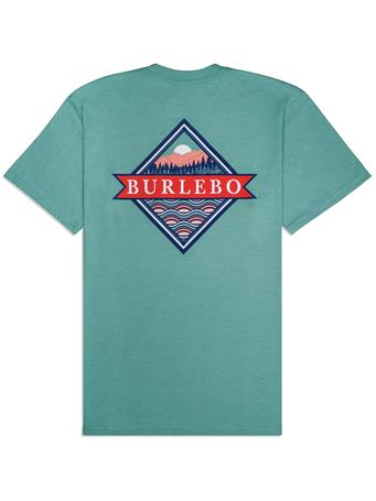 BURLEBO Signature Logo Pocket Tee