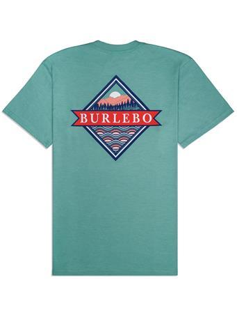 BURLEBO Signature Logo Pocket Tee