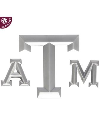 Texas A&M Three Piece Matte Emblem