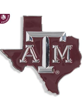 Texas A&M Maroon Lone Star Emblem