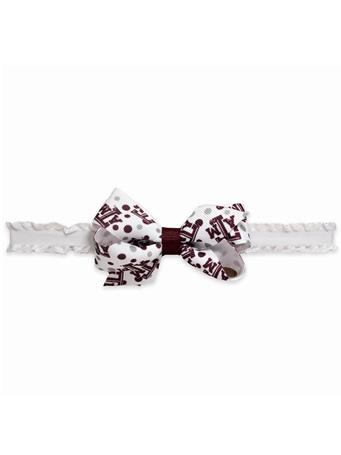 Texas A&M Mini Print Bow Headband