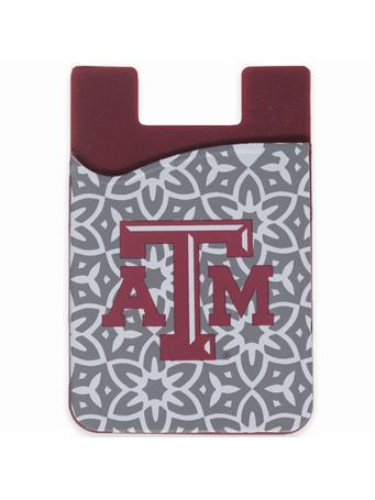 Texas A&M Slim Silicone Phone Wallet