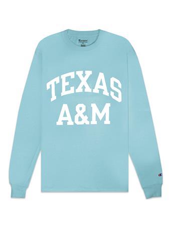 Texas A&M Champion Block Long Sleeve Tee