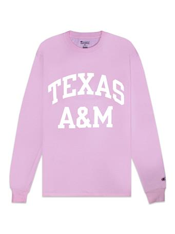 Texas A&M Champion Block Long Sleeve Tee
