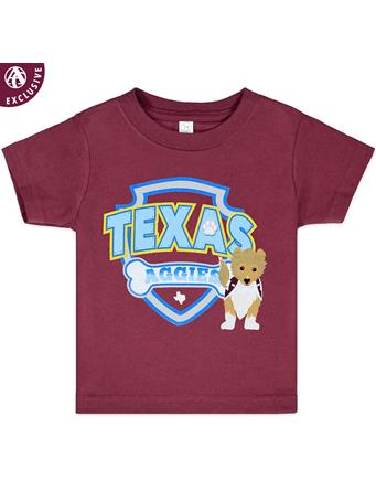 Texas A&M Aggies Reveille Shield Toddler Tee
