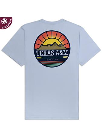 Texas A&M Sunrise Skyline T-Shirt