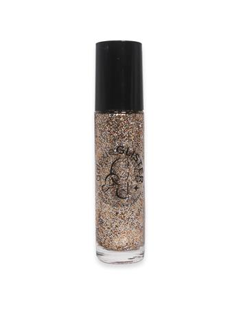 Gold Roll-On Cosmetic Glitter Gel