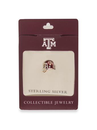 Texas A&M Football Helmet Bead