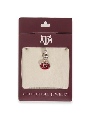 Texas A&M Football Dangle Bead