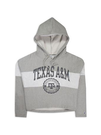 Texas A&M Champion Crop Hoodie