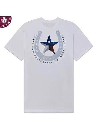 Texas A&M Texas Horseshoe Star T-Shirt