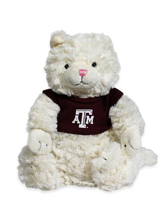 Texas A&M Fuzzy Bunch Cat Stuffed Animal