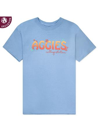 Texas A&M Aggies Groovy Youth T-Shirt