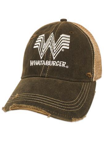 Whataburger Vintage Meshback Cap