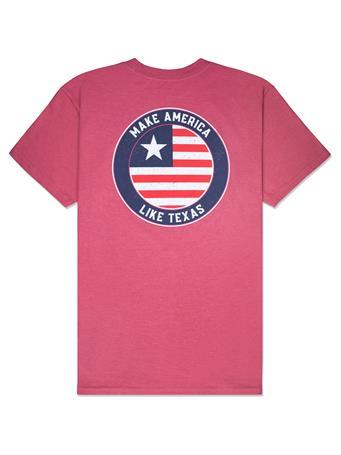 BURLEBO Make America Like Texas T-Shirt