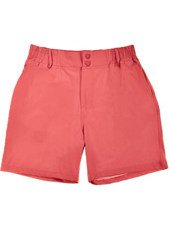 BURLEBO Earth Red Rainbow Pocket Shorts