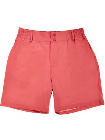 BURLEBO Earth Red Rainbow Pocket Shorts