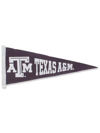 Texas A&M Small Pennant Flag