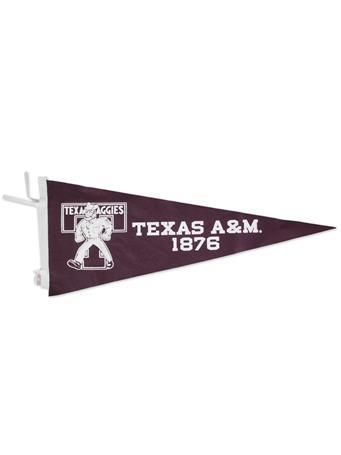 Texas A&M Ol' Sarge Vault Pennant