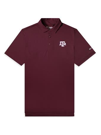 Texas A&M Columbia OmniWick Drive Polo